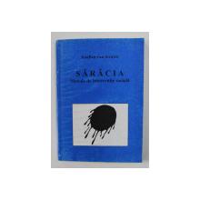 SARACIA - METODE DE INTERVENTIE SOCIALA de JOSEFIEN VAN STRALEN , 1996