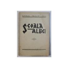 SCOALA ALBEI - REVISTA PEDAGOGICA , CULTURALA , SOCIALA,  A ASOCIATIEI INVATATORILOR DIN JUDETUL ALBA , ANUL IX  , No. 6 - 7  , SEPR. - OCT.  , 1942