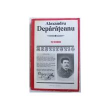 SCRIERI de ALEXANDRU DEPARATEANU , editie de DUMITRU BALAET , 1980 , DEDICATIE*, PREZINTA HALOURI DE APA