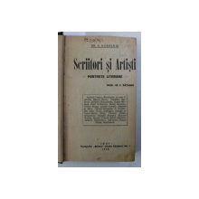 SCRIITORI SI ARTISTI de A . KORALNIK / SCRIITORI RUSI de DMITRIE MEREJKOVSKI / CARNAVAL LITERAR de C . SATEANU , COLEGAT DE TREI CARTI , 1930