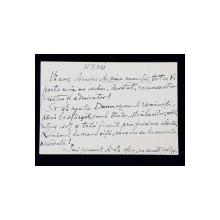 SCRISOARE A ISTORICULUI VIRGIL ZABOROVSCHI CATRE PRINTUL BIBESCU , SEMNATA SI DATATA 21 MAI 1941