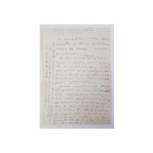 Scrisoare Maresal Alexandru Averescu, catre Otetelesanu.1934