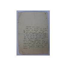 SCRISOARE SEMNATA DE EUGEN HEROVANU , DATATA 11 MARTIE , 1934