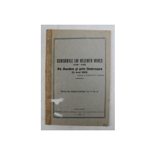 SCRISORILE LUI KELEMEN MIKES ( 1738 - 1740 ) - PE DUNARE SI PRIN DOBROGEA ( IN ANUL 1865 ) , publicate de CONSTANTIN I. KARADJA , 1924