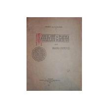 SCULPTURI IN PIATRA DE LA BISERICI MUNTENESTI   - AL.M. ZAGORITZ    -BUC. 1913
