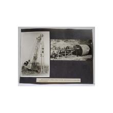 SCUT MECANIZAT SI SONETA PENTRU TUBURI TRONSONATE , FOTOGRAFII MONOCROME , PE HARTIE LUCIOASA , ANII '70 - '80