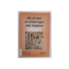 SE FORMER EN DIDACTIQUE DES LANGUES par CHRISTIAN PUREN ...EDVIGE COSTANZO , 1998