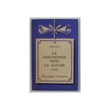 SEDAINE - LE PHILOSOPHE SANS LE SAVOIR par EMILE FEUILLATRE , 1936