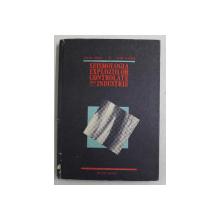 SEISMOLOGIA EXPLOZIILOR CONTROLATE DIN INDUSTRIE de DUMITRU ENESCU si BUJOR ALMASAN , 1987