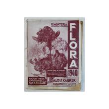 SEMINTERIA ' FLORA ' , CATALOGUL PE ANUL 1940