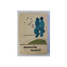 SENSURILE MUZICII de GEORGE BALAN , 1964