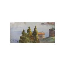 Serif Renkgorur (1887-1947) - Vedere Istambul