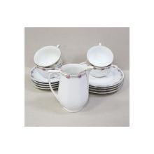 Serviciu de ceai si desert pentru 4 persoane