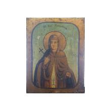 Sf. Cuvioasa Paraschiva, Icoana Romaneasca, Circa 1900