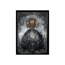 Sf. Ierarh Nicolae, Icoana Romaneasca cu ferecatura din argint