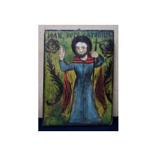 Sf. Ioan Botezatorul - Icoana Romaneasca, cca 1900