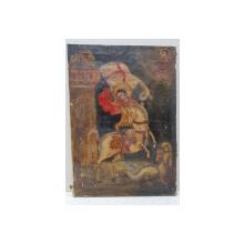 Sf. Mare Mucenic Gheorghe ucigand balaurul, Icoana pe panza