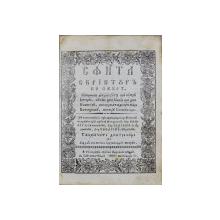 SFANTA SCRIPTURA PE SCURT - BUZAU, 1836