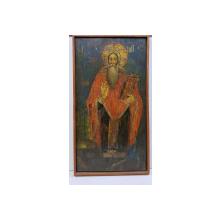 Sfantul Haralambie, Icoana Romaneasca pe lemn. Datata 1846