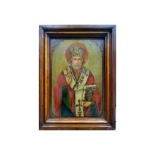 Sfantul Ierarh Nicolae, Icoana Romaneasca de D. Orasanu, 1914, Braila
