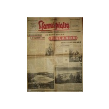 SFARMA PIATRA, ZIAR DE INFORMATIE SI LUPTA ROMANEASCA, ANUL VI, NR. 10, DUMINICA  25 FEBRUARIE 1940
