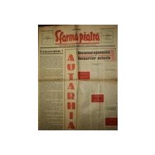 SFARMA PIATRA, ZIAR DE INFORMATIE SI LUPTA ROMANEASCA, ANUL VI, NR 17, 14 APRILIE1940