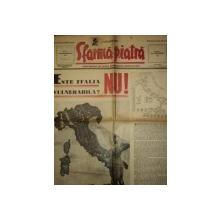 SFARMA PIATRA, ZIAR DE INFORMATIE SI LUPTA ROMANEASCA, ANUL VI, NR 22,DUMINICA 19 MAI 1940