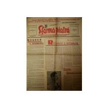 SFARMA PIATRA, ZIAR DE INFORMATIE SI LUPTA ROMANEASCA, ANUL VI, NR 25,DUMINICA 9 IUNIE 1940