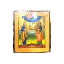 SFINTII APOSTOLI PETRU SI PAVEL, ICOANA RUSIA, SECOL XIX