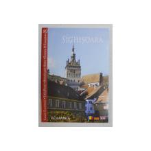 SIGHISOARA  - ALBUM  DE PREZENTARE , TEXT IN ROMANA, MAGHIARA , ENGLEZA , GERMANA de IOAN F. PASCU , 2008