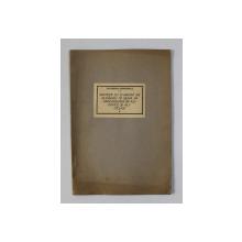 SINTEZE CU CLORURA DE ALUMINIU IN SERIA HIDROCARBURILOR ALIFATICE SI ALICICLICE de ECATERINA CIORANESCU , TEZA DE DOCTORAT, 1936, DEDICATIE*