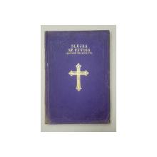 SLUJBA SFANTULUI CUVIOS GRIGORIE DECAPOLITUL de MONAHIA MAGDALINA NICOLESCU - BUCURESTI, 1906 *DEDICATIE