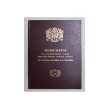 SLUJIRE SFANTA - PREA FERICITUL PARINTE TEOCTIST , PATRIARHUL BISERICII ORTODOXE ROMAN - ZECE ANI DE LA ALGERE SI INTRONIZARE , 1996 , PREZINTA SUBLINIERI CU MARKERUL ROSU *