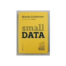 SMALL DATA  - INDICII MARUNTE CARE SCOT LA IVEALA TRENDURI IN MASA de MARTIN LINDSTROM , 2016