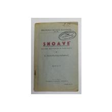 SNOAVE CULESE DIN POPOR SI PUBLICATE de D. MUNTEANU RAMNIC SERIA I , 1930