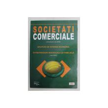 SOCIETATI COMERCIALE ( ACTUALIZARE MAI 2008 ) - GRUPURI DE INTERES ECONOMIC  - INTREPRINDERI INDIVIDUALE SI FAMILIALE ( MAI 2009 ) , MAI , 2008