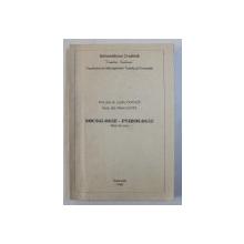 SOCIOLOGIE - PSIHOLOGIE - NOTE DE CURS de LISETTE COANDA si FLORIN CURTA , 1996