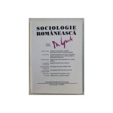 SOCIOLOGIE ROMANEASCA NR. 3-4 , 2000