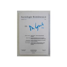SOCIOLOGIE ROMANEASCA , REVISTA , VOLUMUL V , NR. 4 , 2007