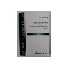 SOMATIA DE PLATA - CULEGERE DE PRACTICA JUDICIARA de ADRIANA PENA , 2008