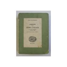 SOMMARIO DELLA STORIA D ' ITALIA di LUIGI SALVATORELLI , 1939