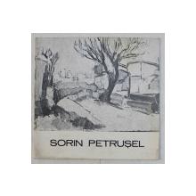 SORIN PETRUSEL , CATALOG DE EXPOZITIE , SEPTEMBRIE , 1984