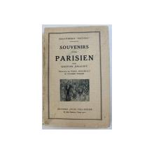 SOUVENIRS D ' UN PARISIEN par GASTON JOLLIVET , 1928
