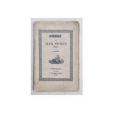 SPERONARE . DELA ALEX. DUMAS . tradus de I. ELIADE , 1847 , PREZINTA PETE SI URMA DE UZURA CARE NUI AFECTEAZA TEXTUL *