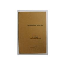 SPETA SI VARIETATEA DE SPETA IN CHIMIE de DR. ST. BOGDAN , 1938