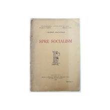 SPRE SOCIALISM de I. RAMSAY MACDONALD , 1925