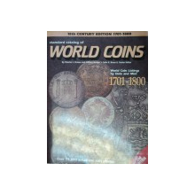 STANDARD CATALOG OF WORLD COINS.WORLD COIN LISTINGS BY DATE AND MINT 1701-1800 - CHESTER L. KRAUSE AND CLIFFORD MISHLER   2ND EDITION