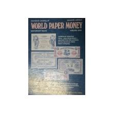 STANDARD CATALOG OF WORLD PAPER MONEY-ALBERT PICK