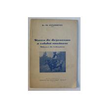 STAREA DE DEGENERARE A CALULUI ROMANESC - MIJLOACE DE INDREPTARE de TR. PAVLOSIEVICI , 1941
