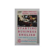 STARTING BUSINESS ENGLISH  , TRANSCRIEREA  CASETELOR  AUDIO / AUDIOSCRIPT , 1996